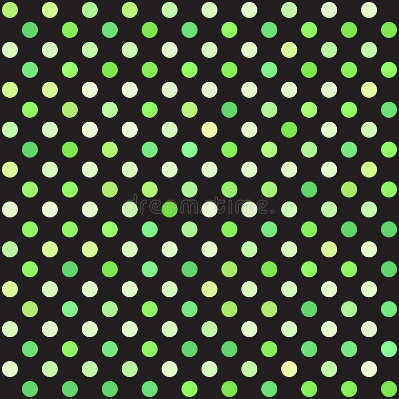 圆点样式 背景无缝的向量 向量例证
