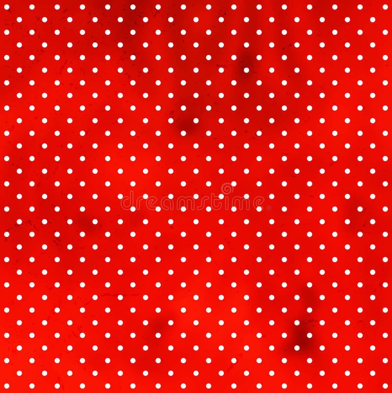 圆点花样的布料脏的模式 向量例证