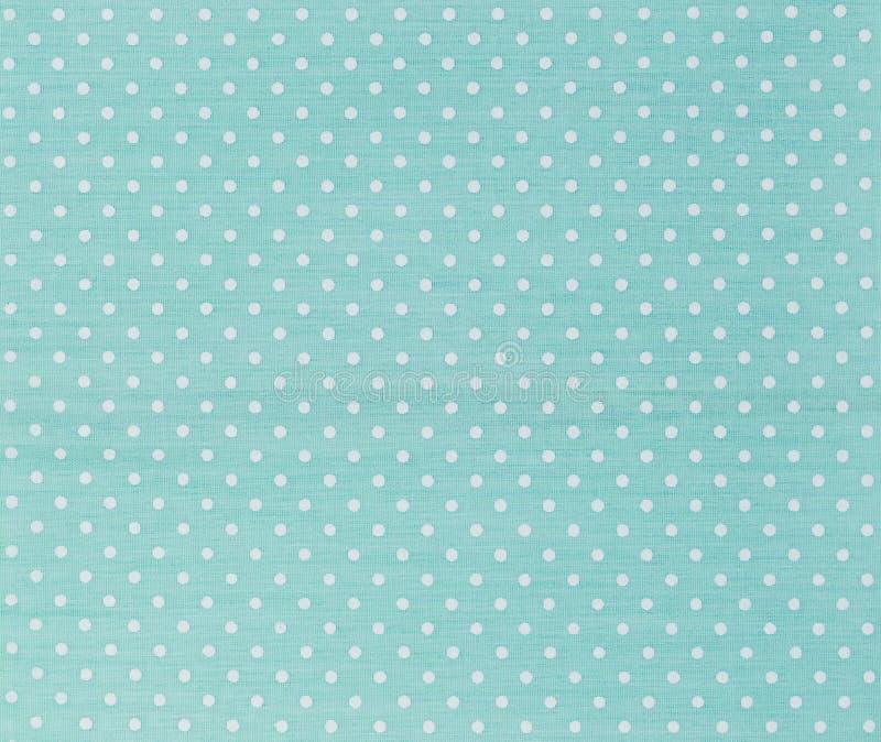 圆点织品 免版税图库摄影