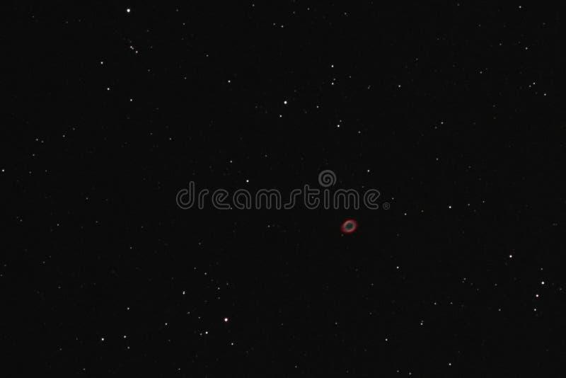 圆环星云 免版税库存图片