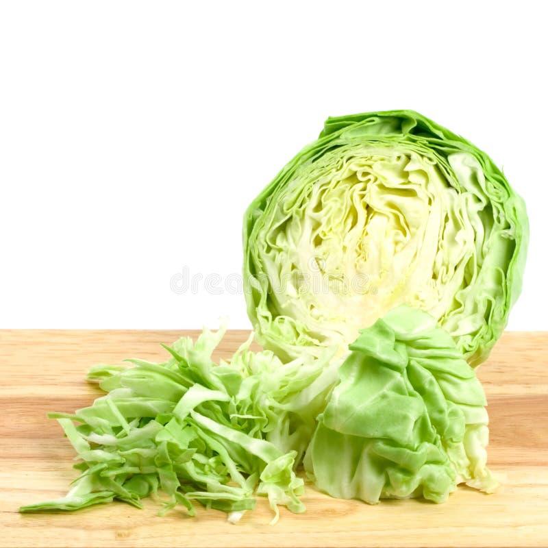 圆白菜绿色 免版税库存照片