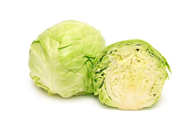圆白菜题头 图库摄影