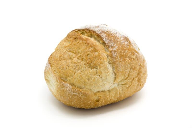 圆的新鲜的酸面团一个大面包  图库摄影