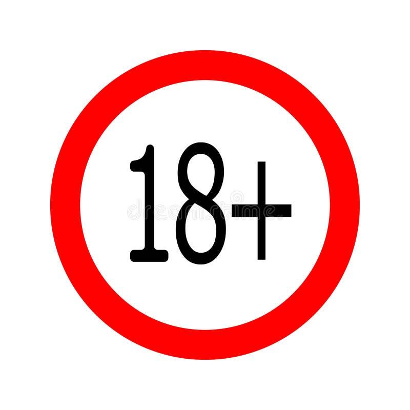 圆的未成年人禁止了18象 皇族释放例证