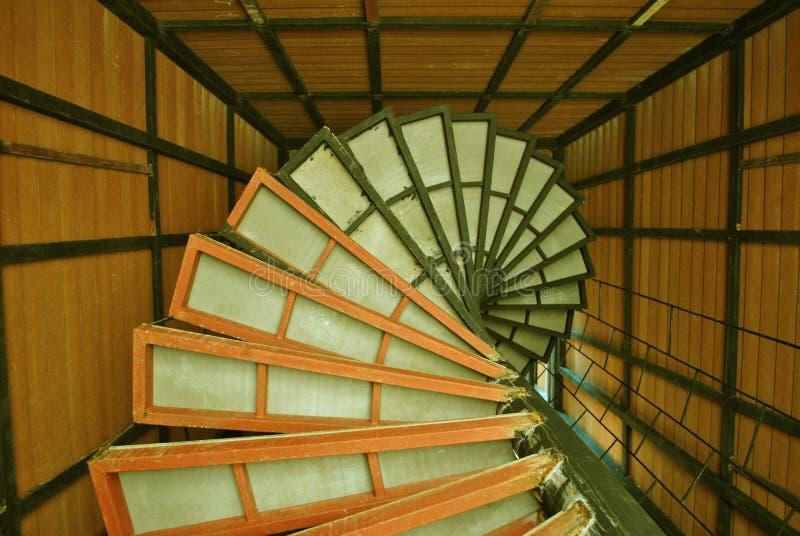 圆的楼梯 免版税库存图片