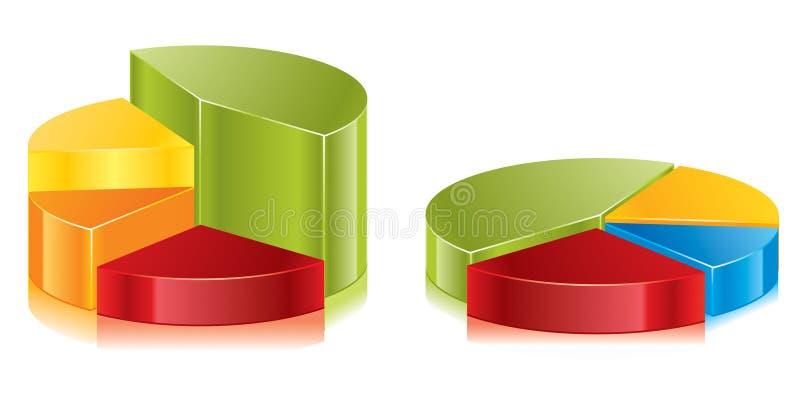 圆的绘制向量 向量例证