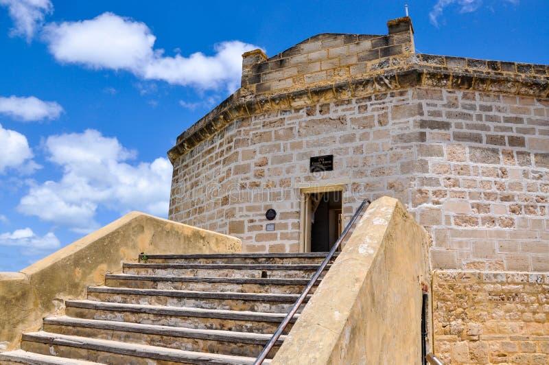 圆的议院:Fremantle,西澳州 库存照片