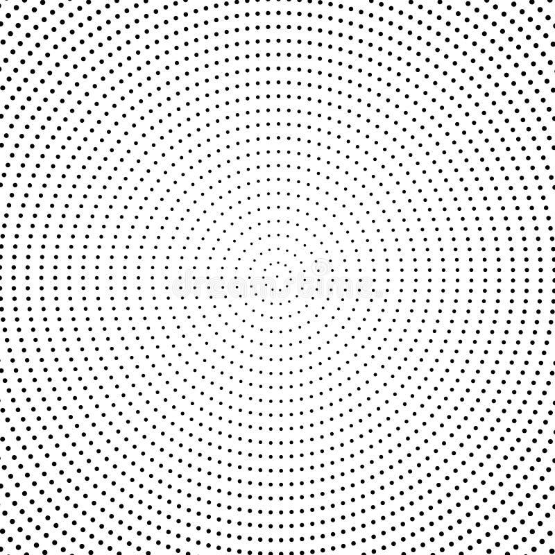 圆的边界 库存例证