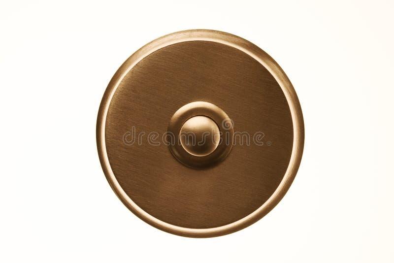 圆的门铃 图库摄影