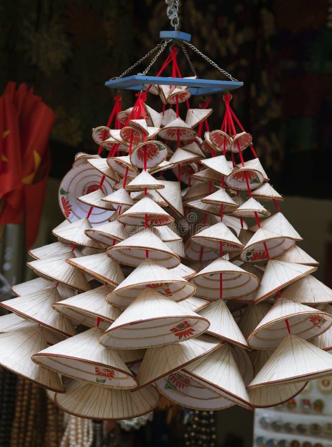 圆锥形越南帽子待售 免版税库存图片
