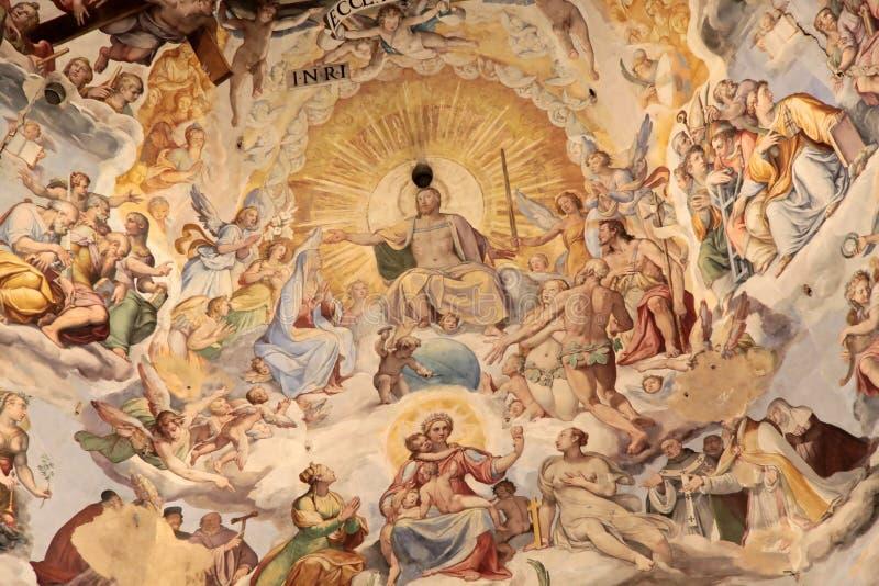 圆顶佛罗伦萨 库存照片