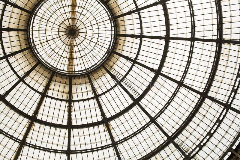 圆顶场所维托里奥Emanuele II 图库摄影