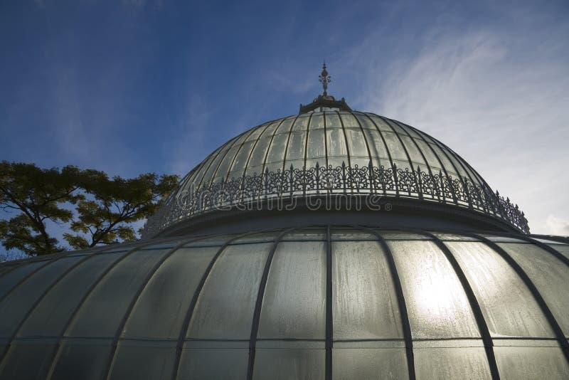 圆顶玻璃 免版税图库摄影