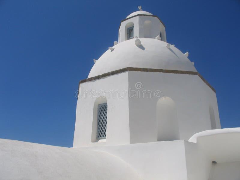 圆顶白色 免版税库存图片