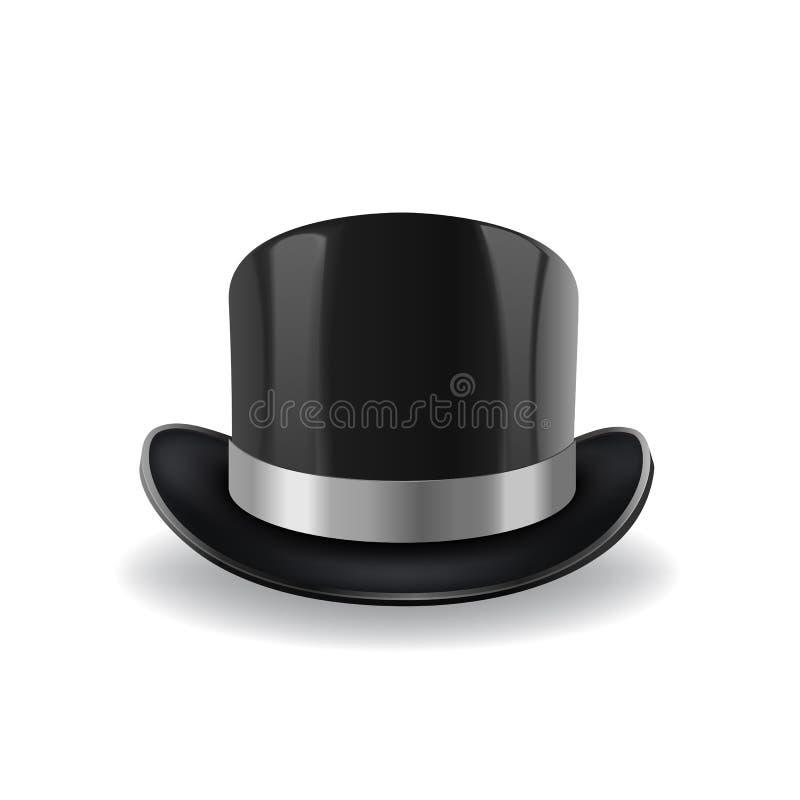 圆顶硬礼帽传染媒介 向量例证