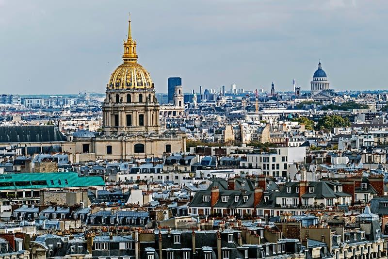 Download 圆顶des Invalides,巴黎,法国鸟瞰图 库存图片. 图片 包括有 风景, 金黄, 法国, 通风 - 62526347