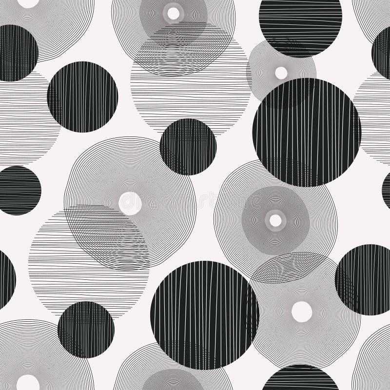 圈子摘要画的样式有现代美术设计几何背景 库存例证
