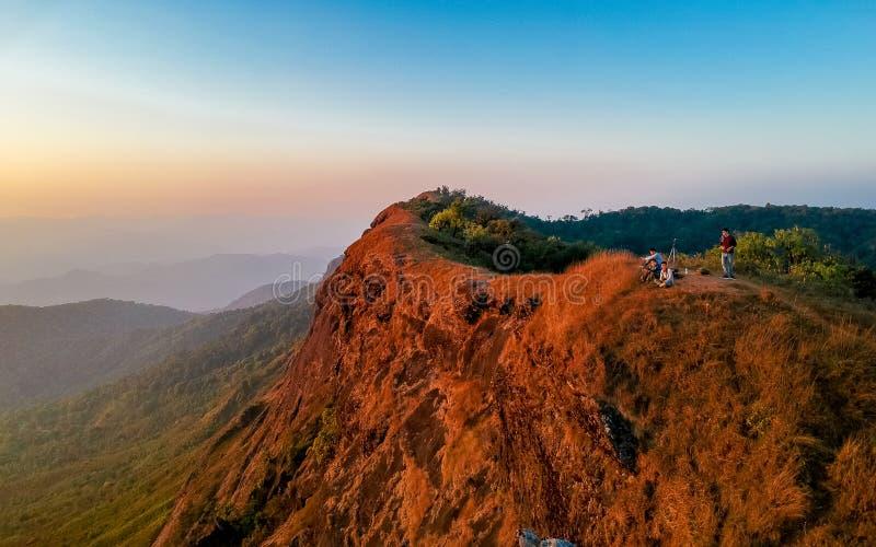 土井星期一Jong小山在ChiangMai,泰国 图库摄影