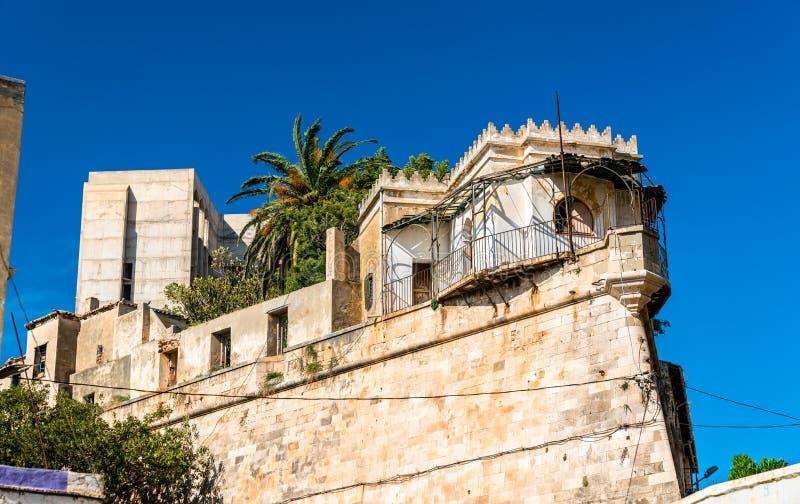 土侯宫殿在奥兰,阿尔及利亚 库存图片