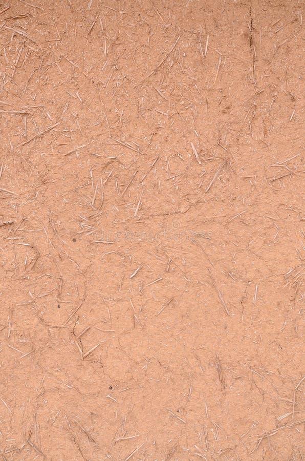 黏土和秸杆 免版税图库摄影