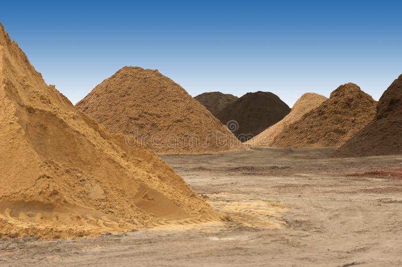 土堆 免版税库存照片