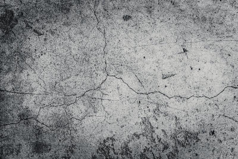 土墙壁背景,年迈的难看的东西水泥纹理 免版税库存照片