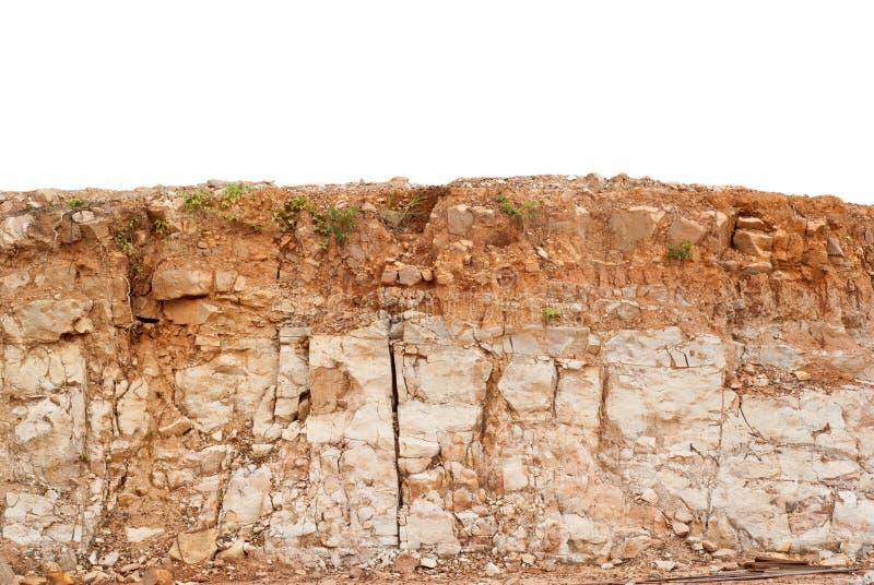 土壤层数 免版税库存照片