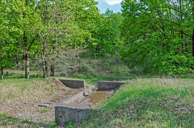 土壤的保护免受侵蚀 免版税库存照片