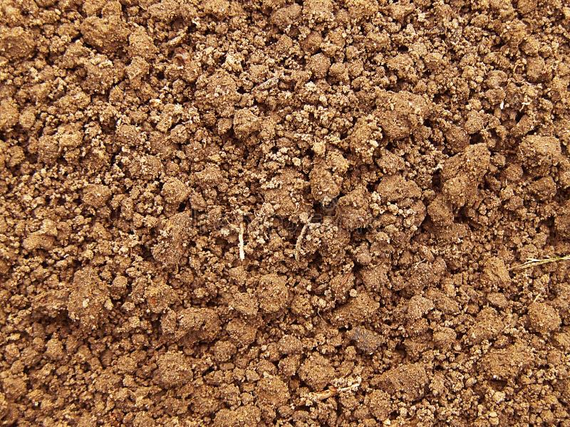土壤纹理 免版税库存照片