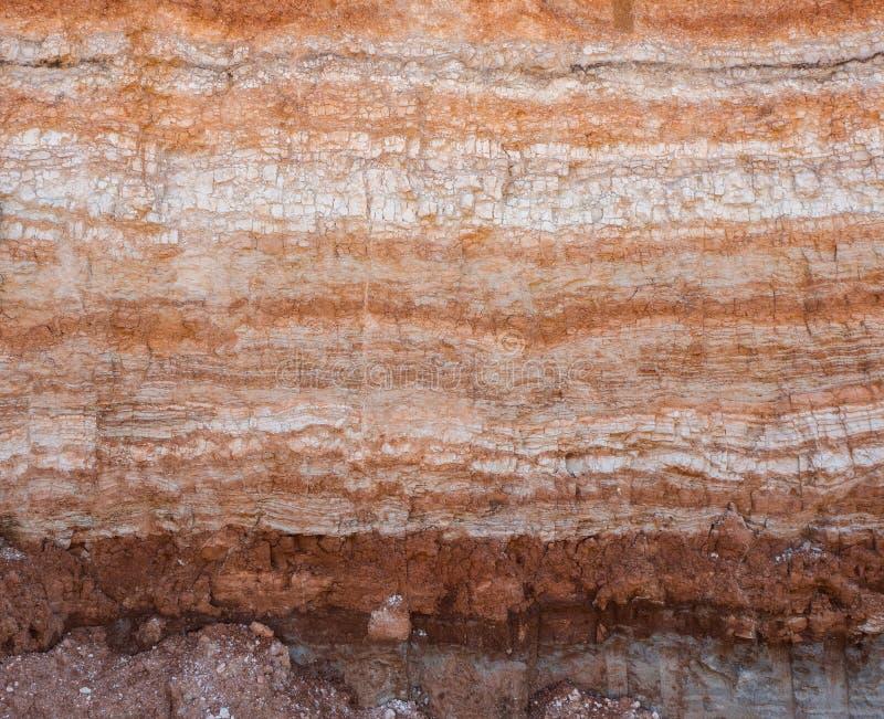 土壤自然裁减  免版税库存照片