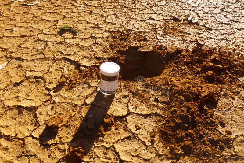 土壤采样 图库摄影