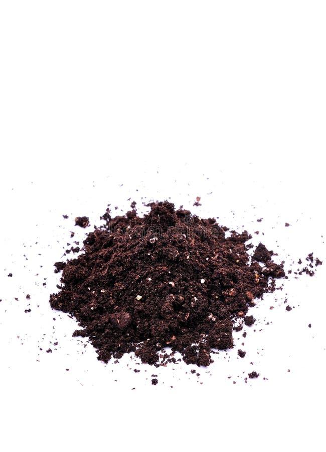 土壤顶层 免版税库存照片