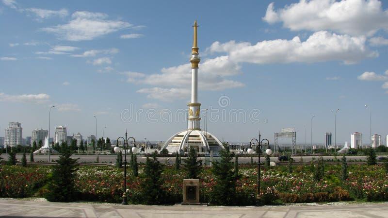 土库曼斯坦-阿什伽巴特,博物馆 库存照片
