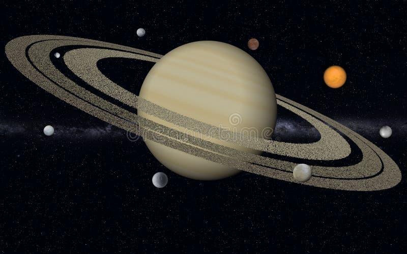 土星 库存图片