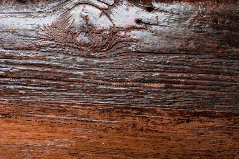 土气具沟的木背景 库存图片