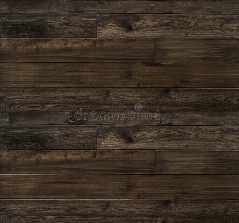 土气木纹理板条板 免版税库存照片