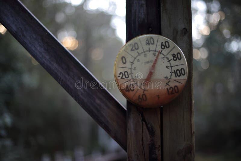 土气温箱 库存照片