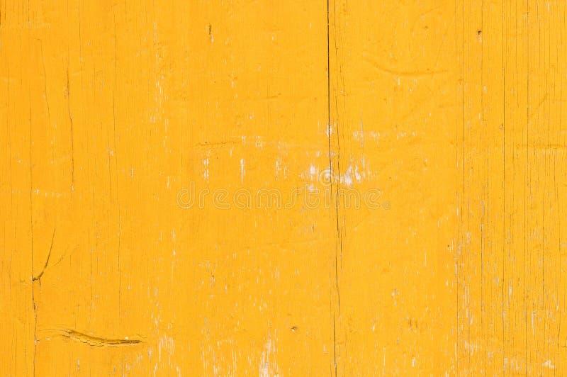土气老黄色色的木委员会板条背景纹理 图库摄影