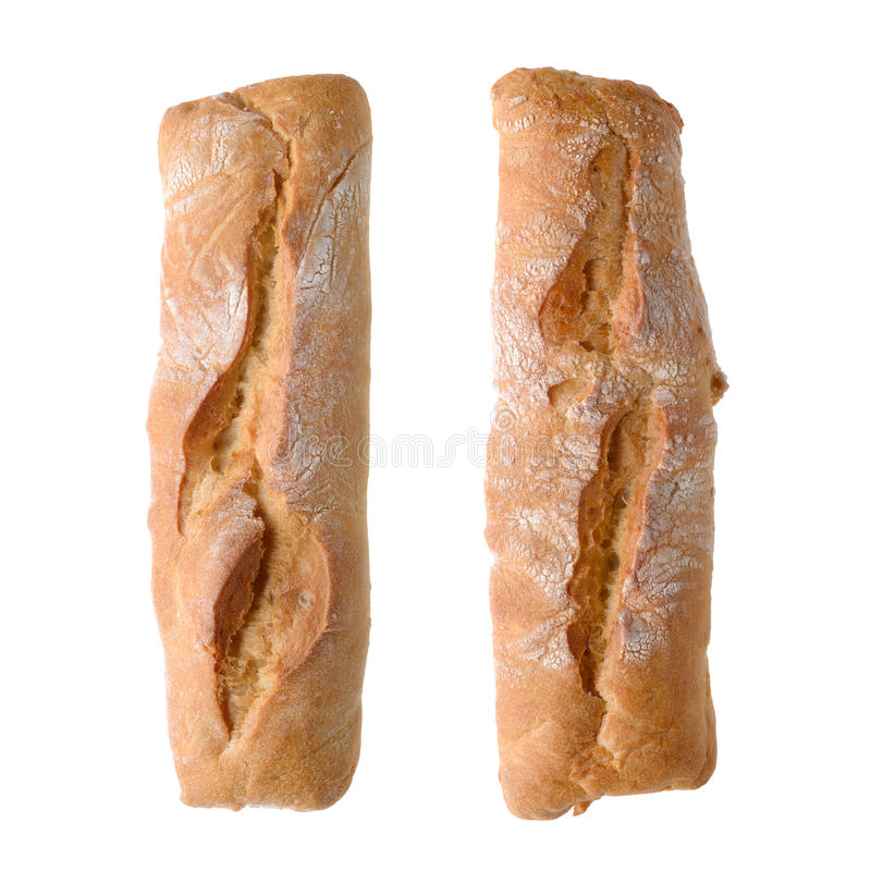 土气麦子面包 图库摄影