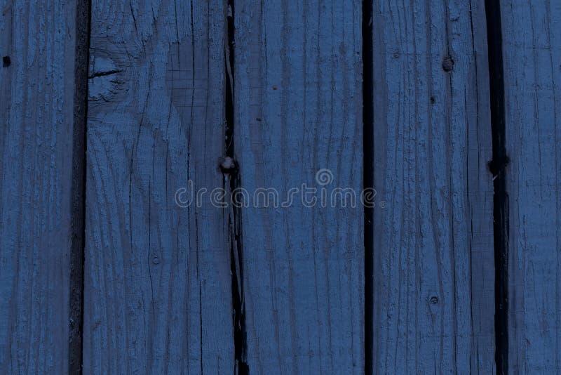 土气,蓝色木板条背景,木纹理 库存照片