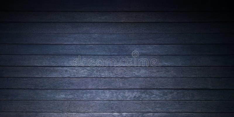 土气黑木背景 免版税库存图片