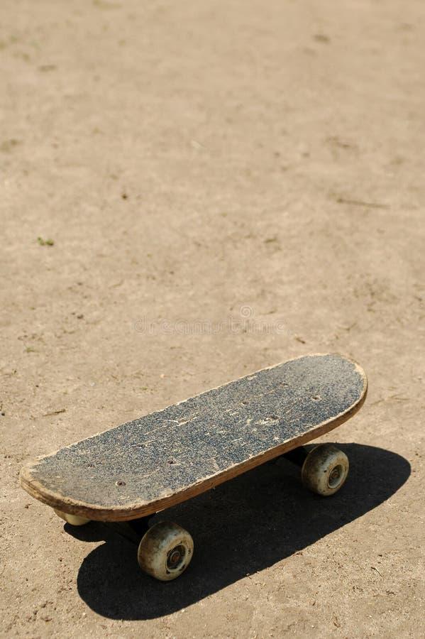 土滑板 免版税库存照片