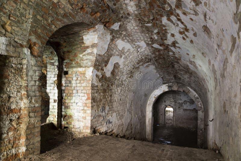 土牢 地下室 乌克兰 免版税库存图片