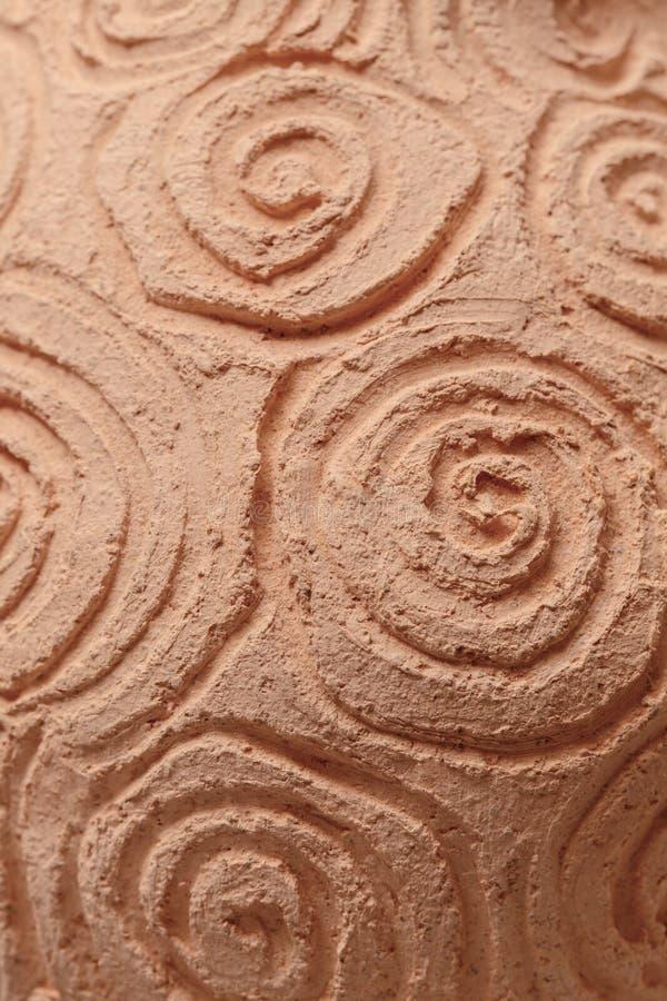 黏土瓦器的范围 免版税图库摄影