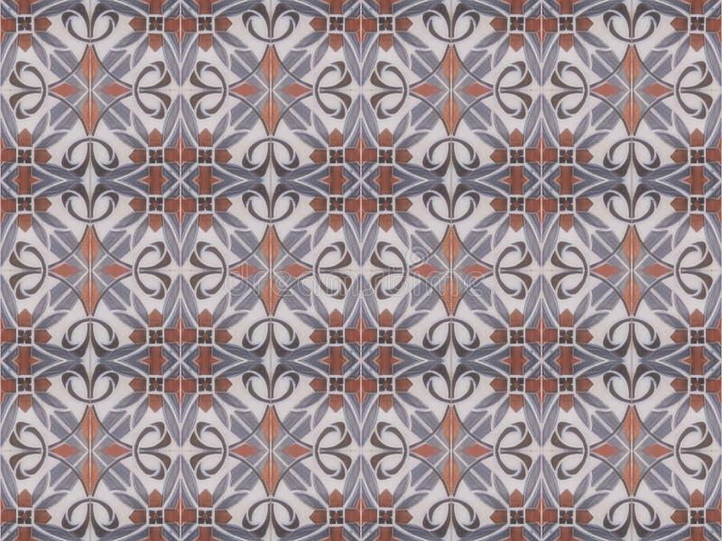 土耳其传统装饰装饰瓦片 无缝的样式摘要背景概念 免版税图库摄影