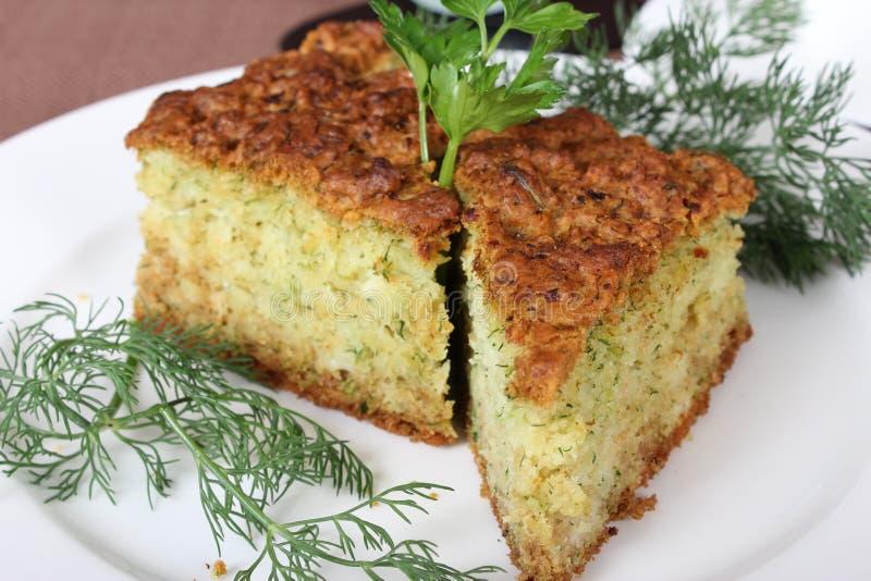 土耳其可口莳萝蛋糕 免版税库存照片