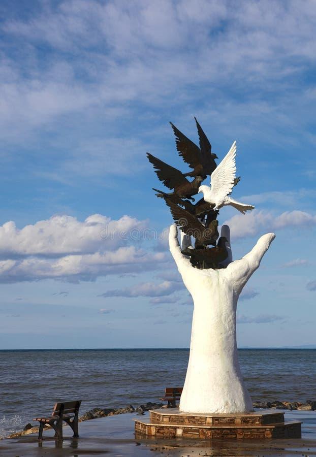 土耳其和平纪念碑 库存照片