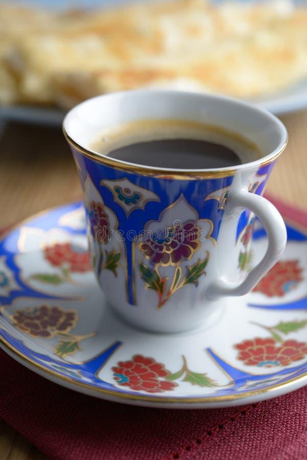 土耳其咖啡 库存图片