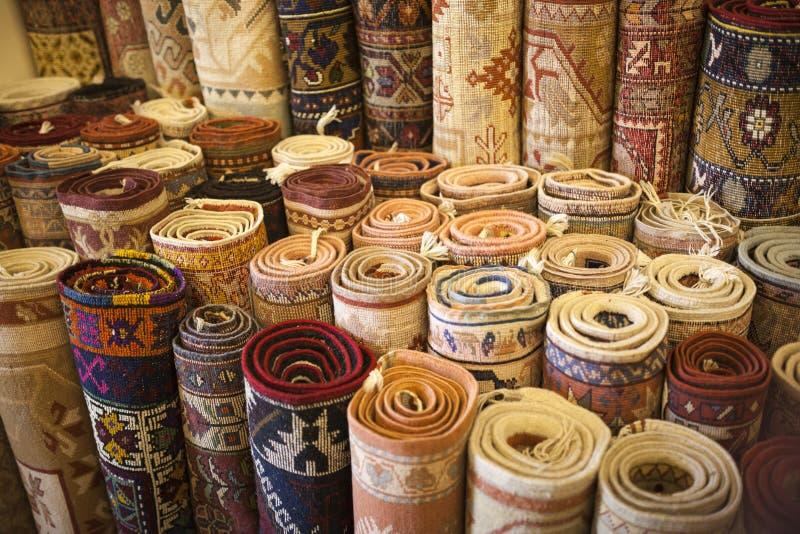 土耳其地毯商店 免版税库存照片