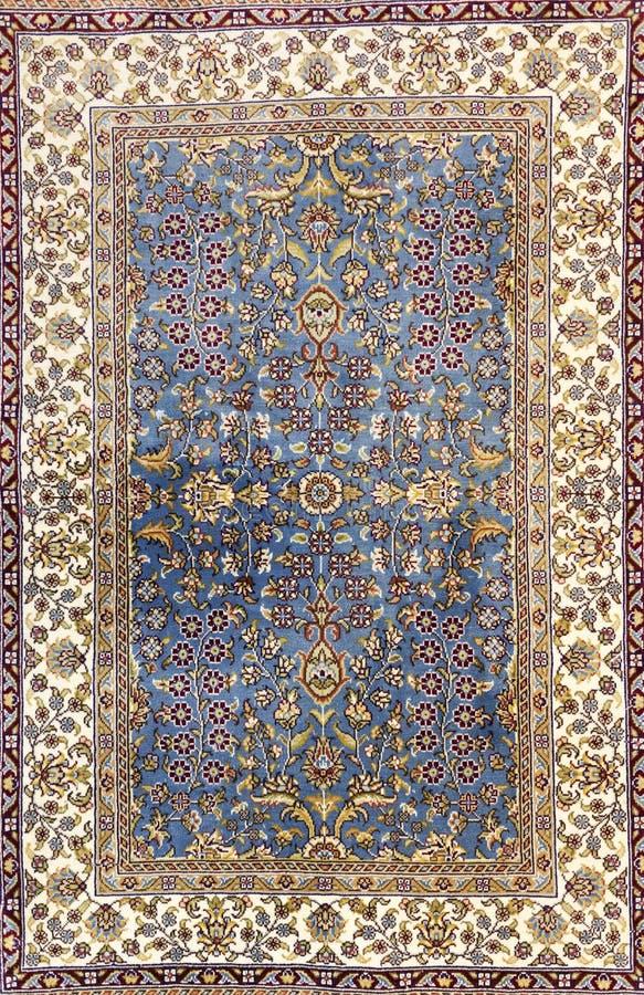土耳其地毯背景 免版税库存图片